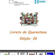 Capa do livreto da quarentena - Edição 06