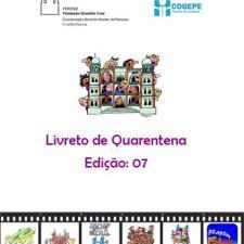Capa do livreto da quarentena - Edição 07