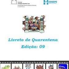 Capa do livreto da quarentena - Edição 09