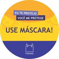 Adesivo: use máscara!