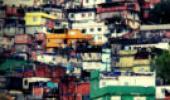 Casas de uma favela