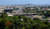 Vista aérea da Avenida Brasil