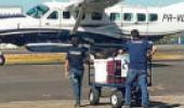 Avião no aeroperorto
