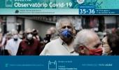 Covid-19: Boletim mostra que número de casos e óbitos tem a maior queda em 2021