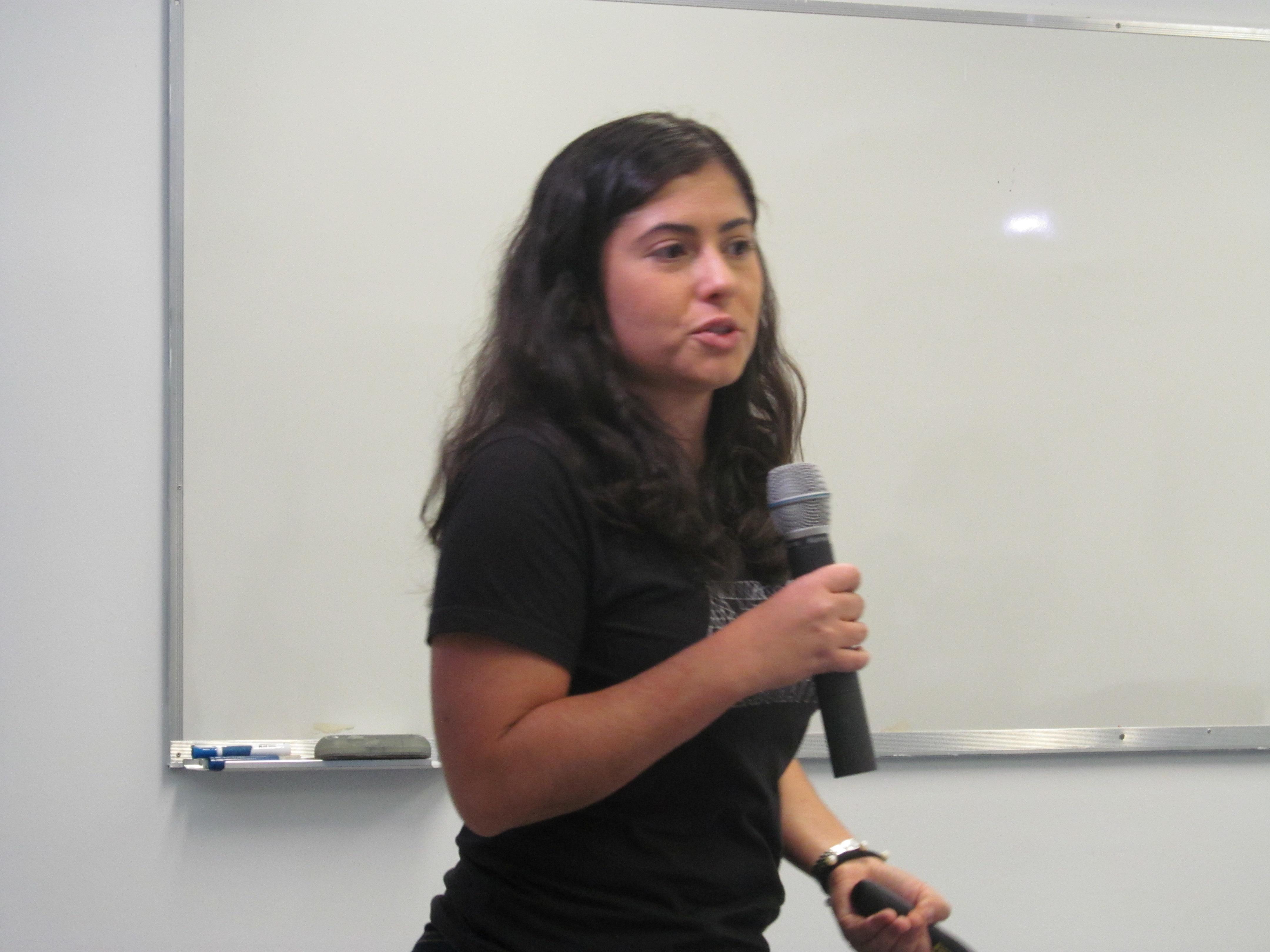 Ana Paula Luz, idealizadora do projeto Atos Colaborativos